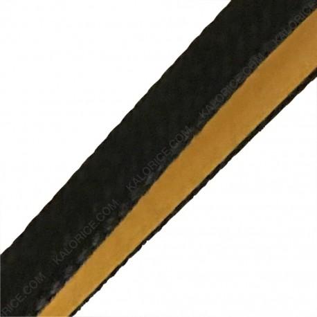 Joint noir plat autocollant 8x2 (Lg 1m)